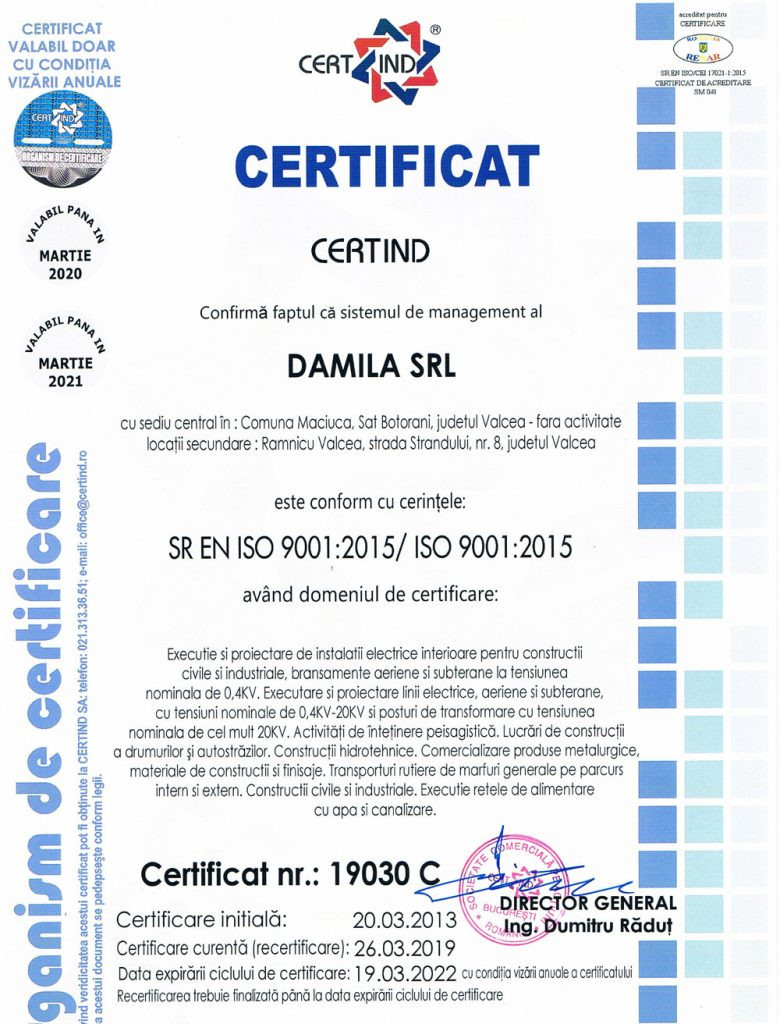 Damila-Certificat-Calitate-2019